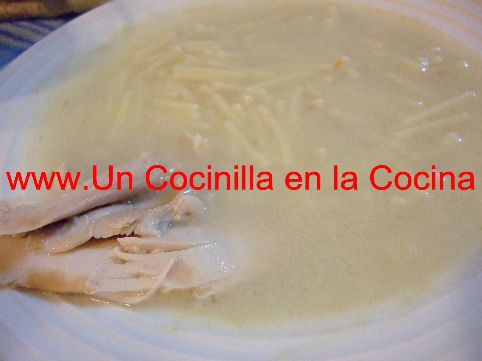 Sopa de pollo utilizando thermomix cocina f cil y barata for Cocina thermomix facil
