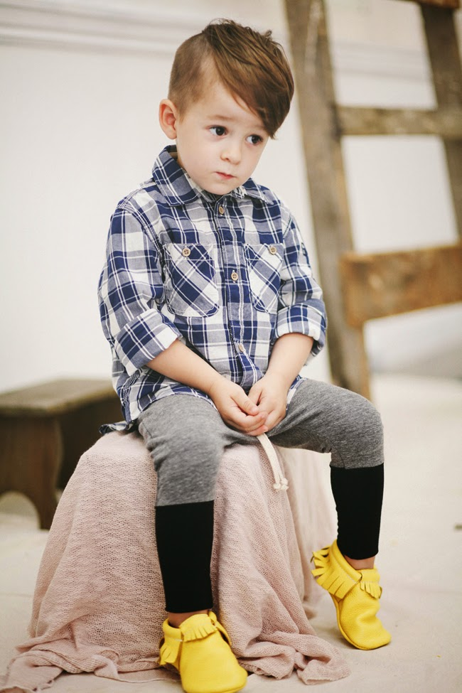 Handmade, organic children's clothes by Kindred OAK for AW14 collection