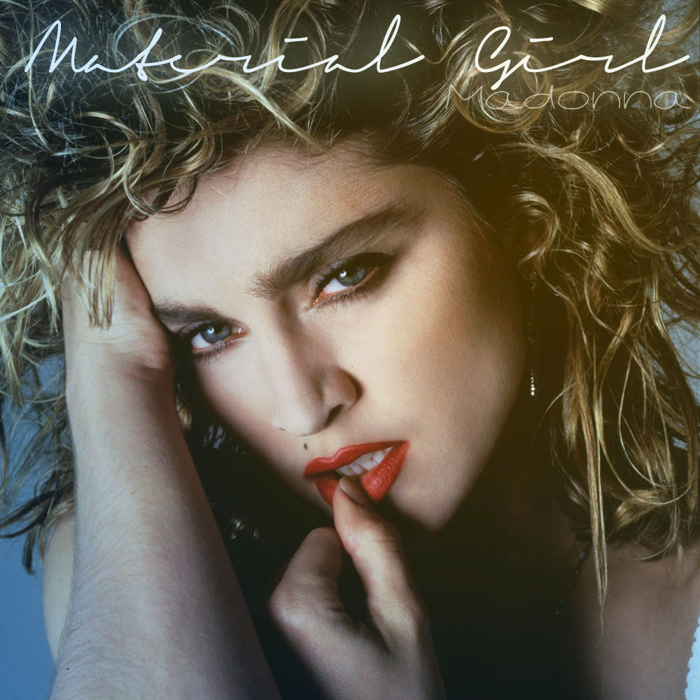 Book Cover Material Girl : Material girl fanmade cover madonna artworks