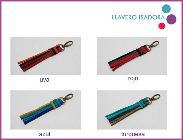 LLAVERO ISADORA