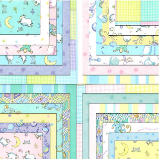 Moda BEDDY BYE FLANNELS Quilt Fabric by Ingrid Slyder