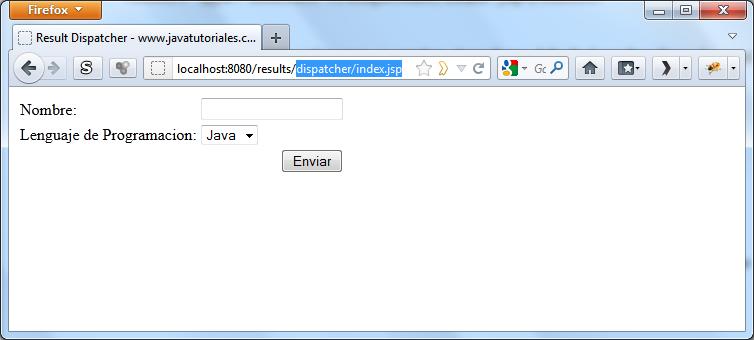 Result type dispatcher struts 2 tutorial