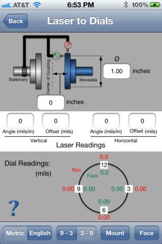Alineación de precisión mediante relojes comparadores