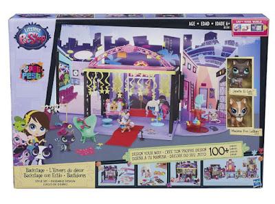 TOYS : JUGUETES - Littlest Pet Shop  Backstage con estilo | Style Set | Juego de Diseño  Producto Oficial 2015 | Hasbro B1241 | A partir de 6 años  Comprar en Amazon España & Buy Amazon USA