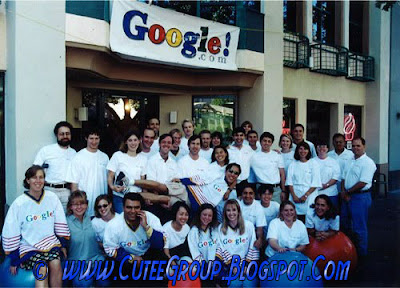 Google in 1999, when they started; just a few folks!
