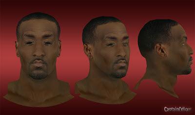NBA 2K13 Kendrick Perkins Cyberface Mod