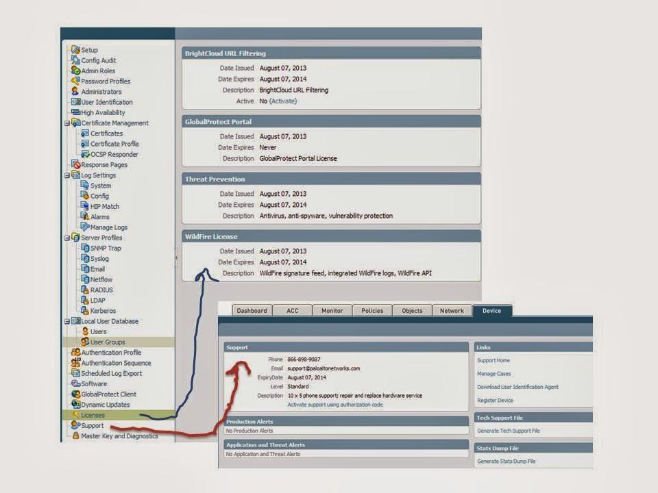 CLI commands - Palo alto Networks Study