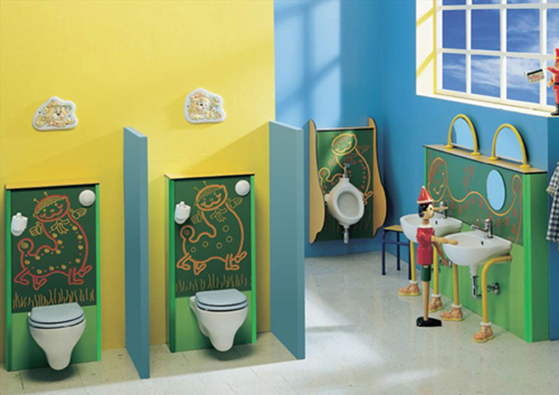 Kids Bathroom Design Interior Home Design