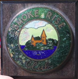 The Smoke Rise Club Car Badge
