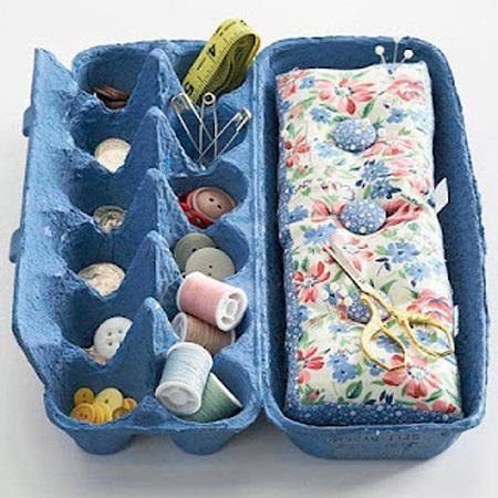 Ideas para reciclar cajas de huevo - Caja de huevo ...