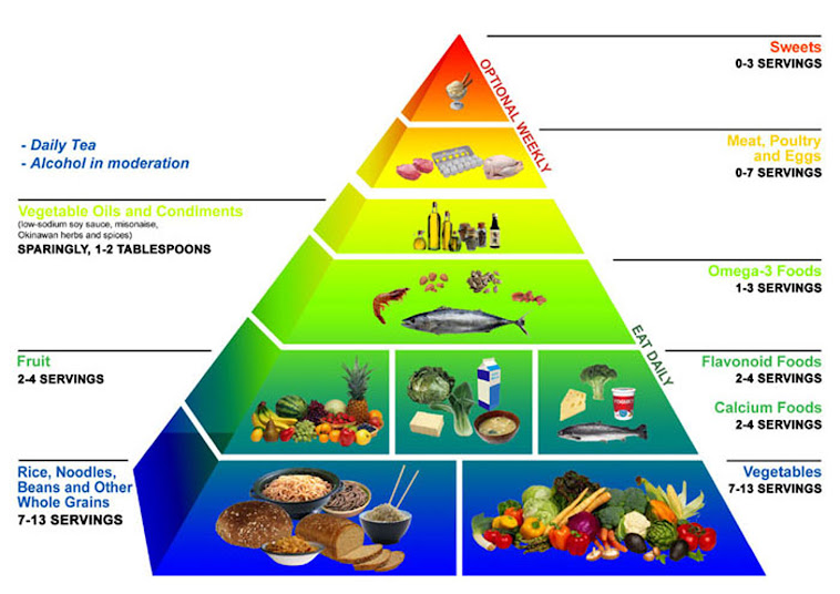 food pyramid diagram