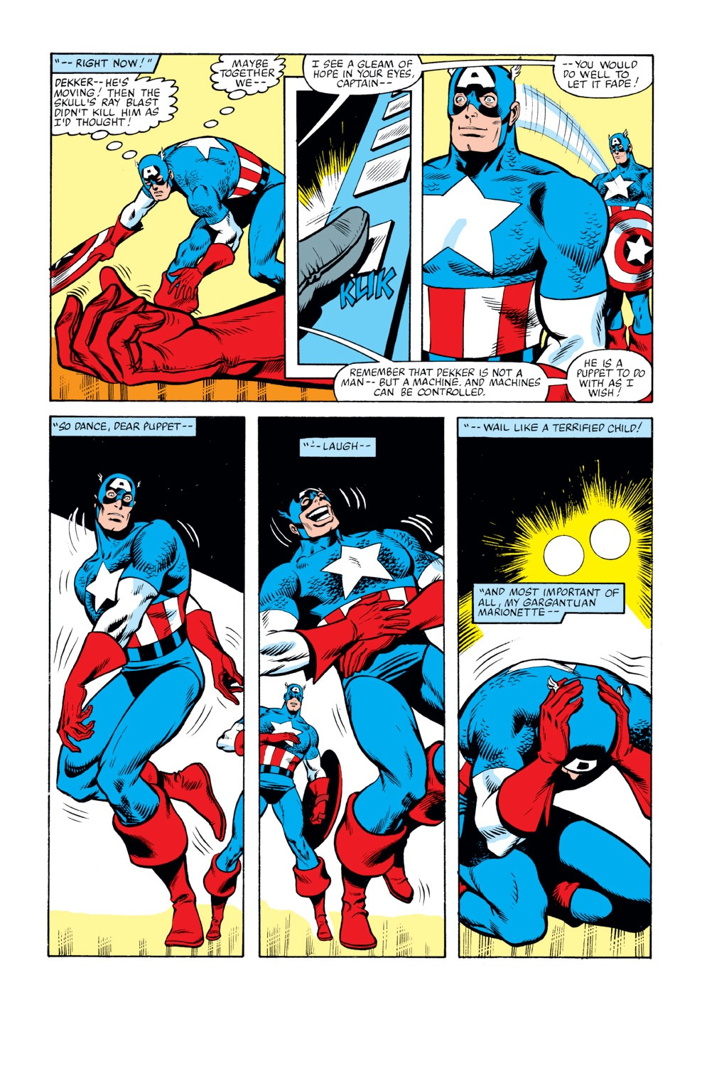 Captain America (1968) Issue #263 #178 - English 5