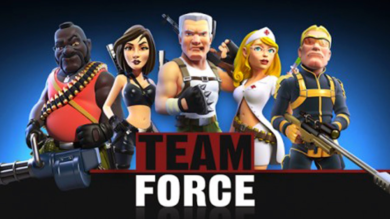 Team Force MOBA Gameplay IOS / Android