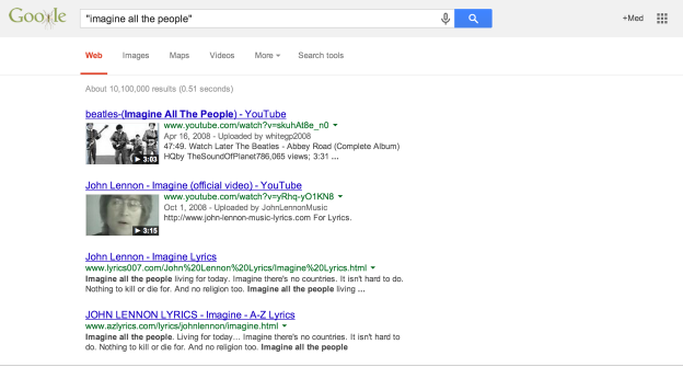 how to search for exact phrase in google