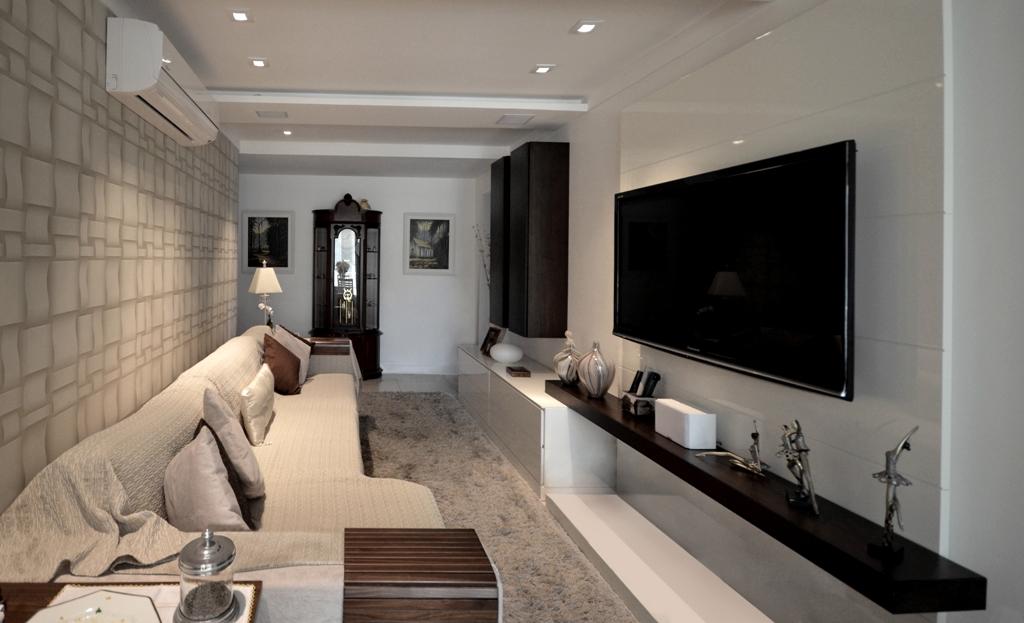 Sala De Estar Junto Con Sala De Tv ~ Apartamentos pequenos OITO SALAS PARA VOCÊ SE INSPIRAR