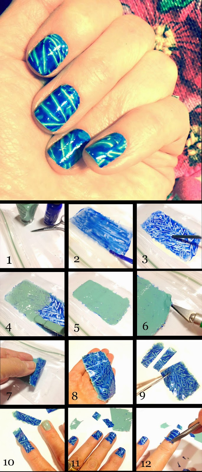 FACCI DESIGNS: Create Your Own Graffiti-Inspired Nail Decals