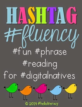 http://www.teacherspayteachers.com/Product/Hashtag-Fluency-fun-phrase-reading-for-digitalnatives-1179173