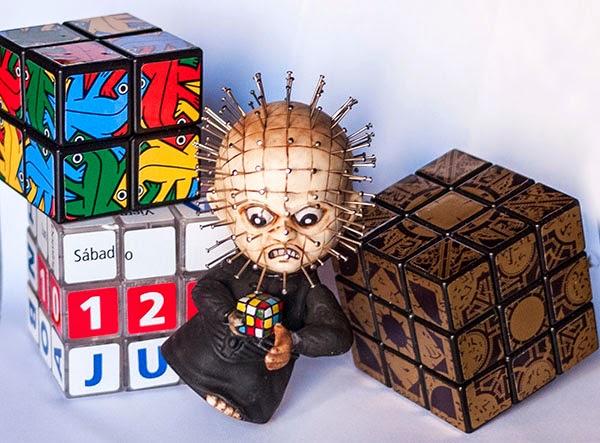 Oliver Stickers Escher, Hellraiser Cube, Calendario Rubik Español