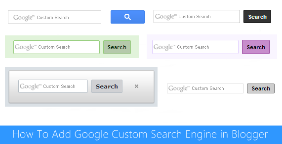 Google Custom Search Engine for Blogger : eAskme