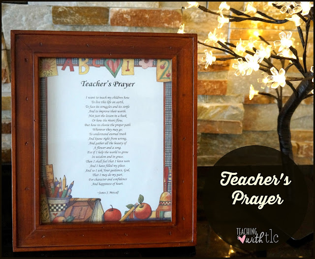 teacher prayer