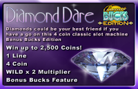 Diamond Dare Bonus Bucks Game Review