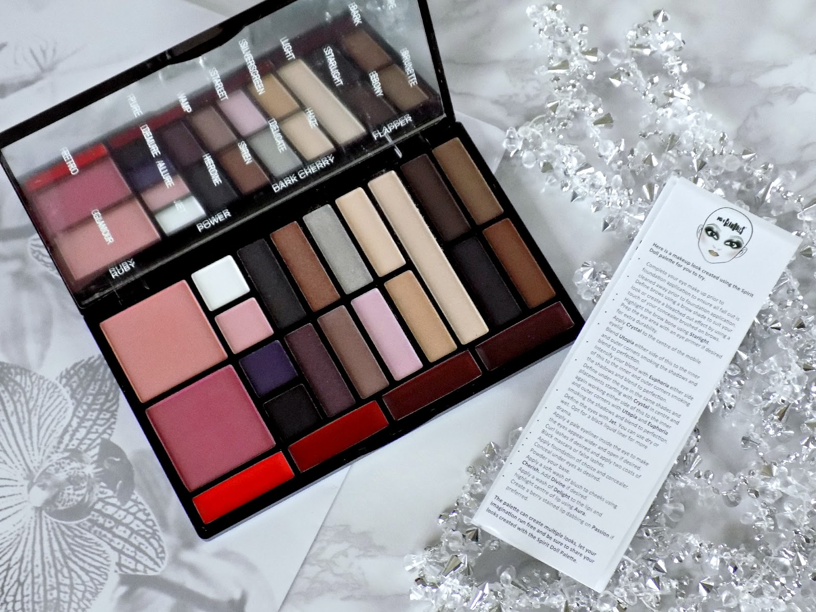 Freedom Makeup & House of Glamdolls 'Vintage Doll Look' palette