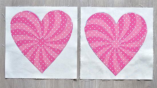 Free Heart Quilt Pattern