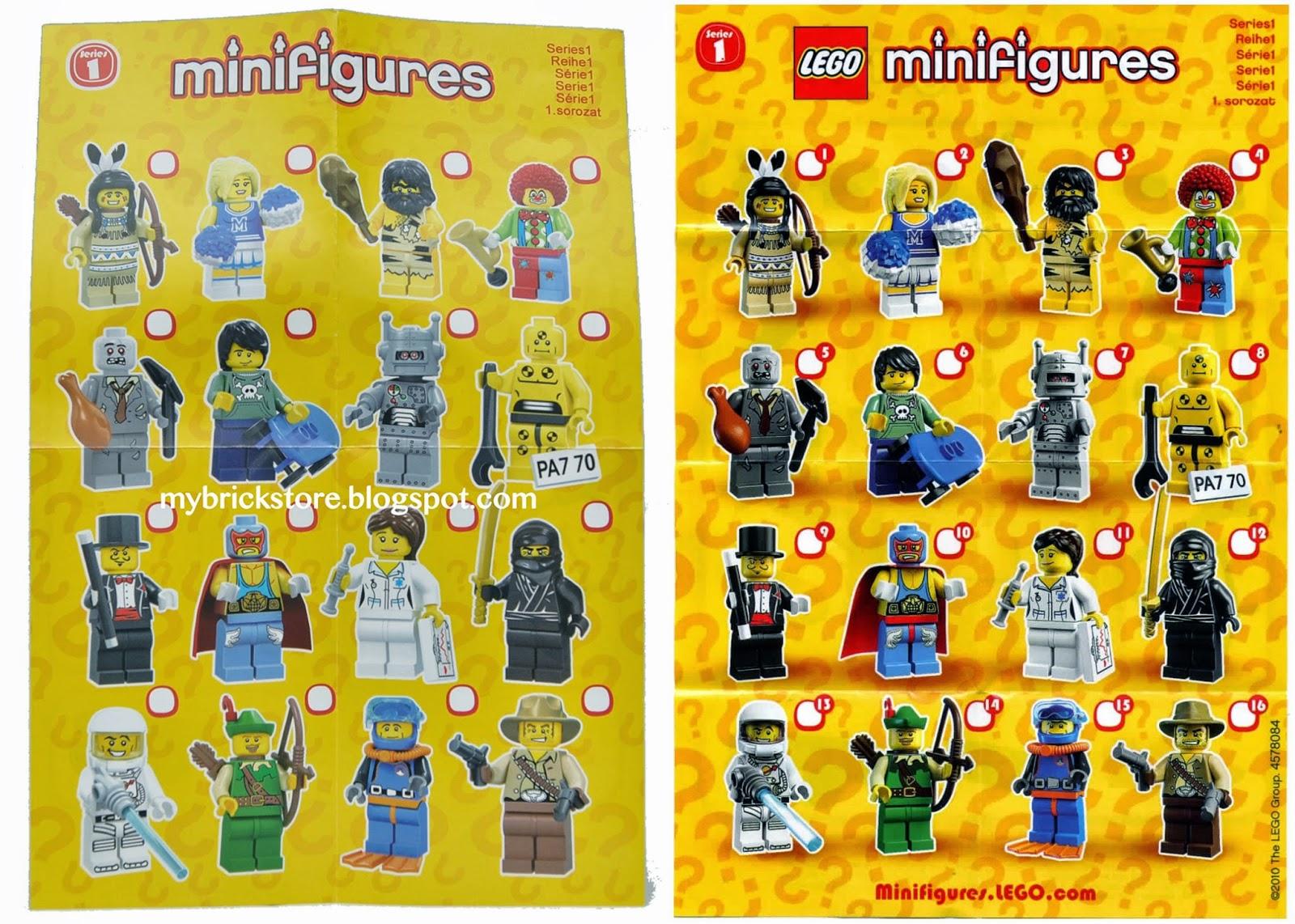 "COLLECTIBLE MINIFIGURE Lego Series 1 /""CAVEMAN/"" w//club NEW Genuine Lego 8683"