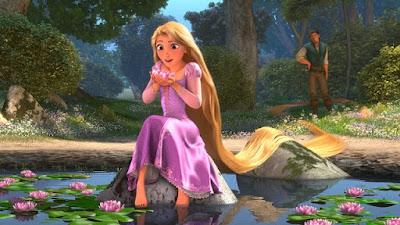 Wallpaper gambar Rapunzel