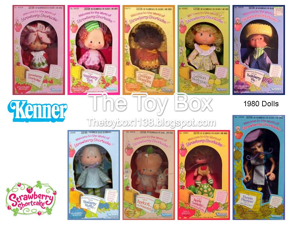 The Toy Box Strawberry Shortcake Kenner