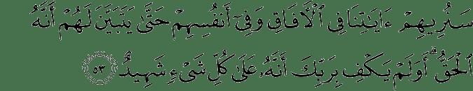 Surat Fushshilat ayat 53