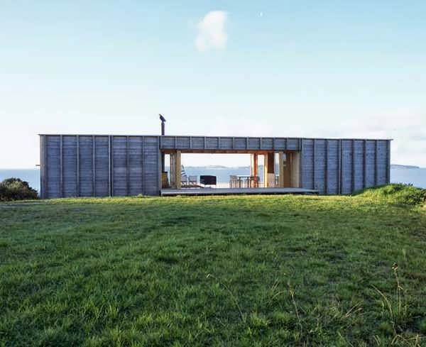 TOP 7 UNIQUE HOUSE DESIGN: NEW ZEALAND SIMPLISTIC HOUSE PLAN WITH BOX STYLE OVERLOOKING THE OCEAN