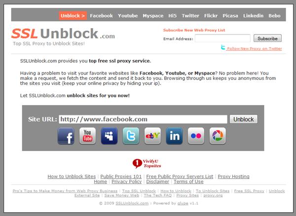 SSL Unblocker YouTube