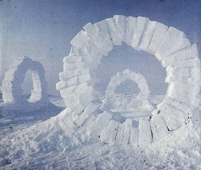 Visually 3D: Artist whose work I love: Andy Goldsworthy