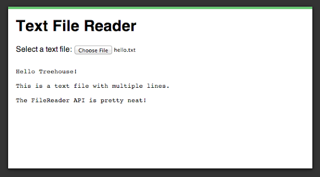 HTML5 FileReader API