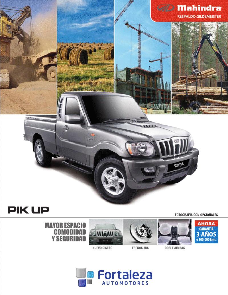 Autom viles camioneta mahindra pick up cabina simple use el mouse para ampliar la imagen