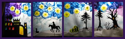 Schattenspiel Sankt Martin, Laternen, Schattenspiel im Kindergarten, Waldorf