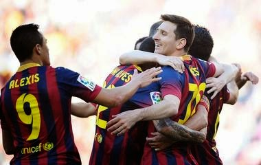 Video Cuplikan Gol Barca VS Real Betis 3-1