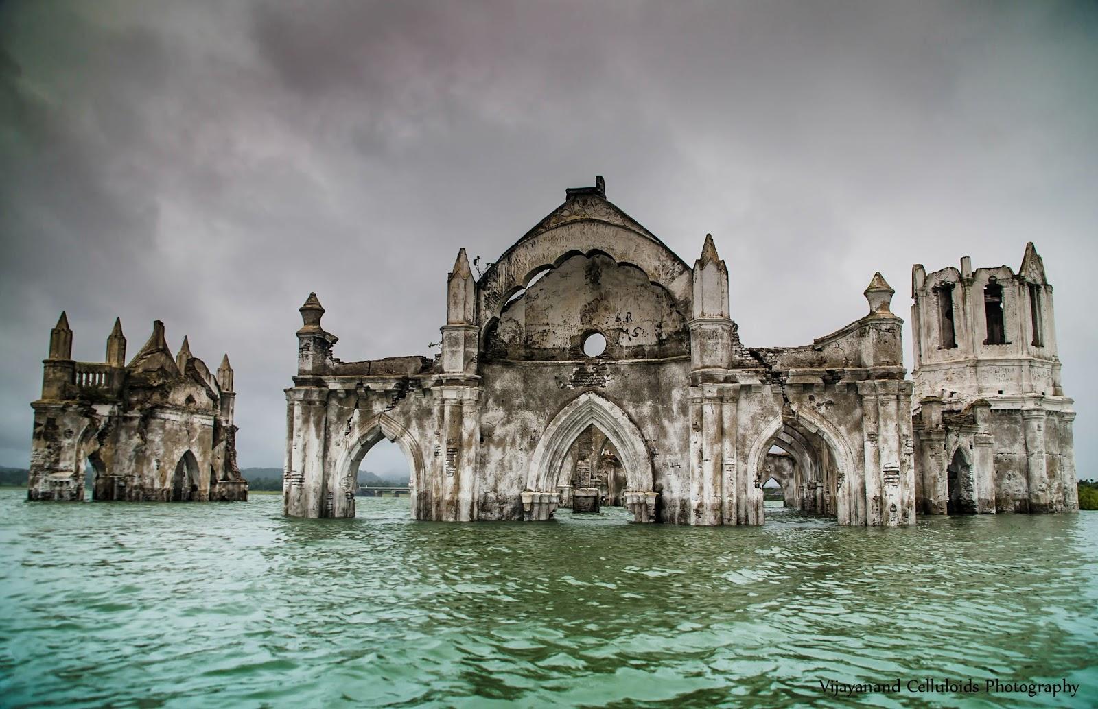 Travel and Explore: Shettihalli Holy Rosary Church.