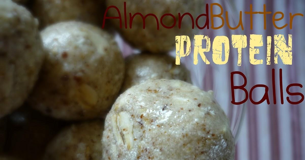 No-Bake Almond Energy Balls