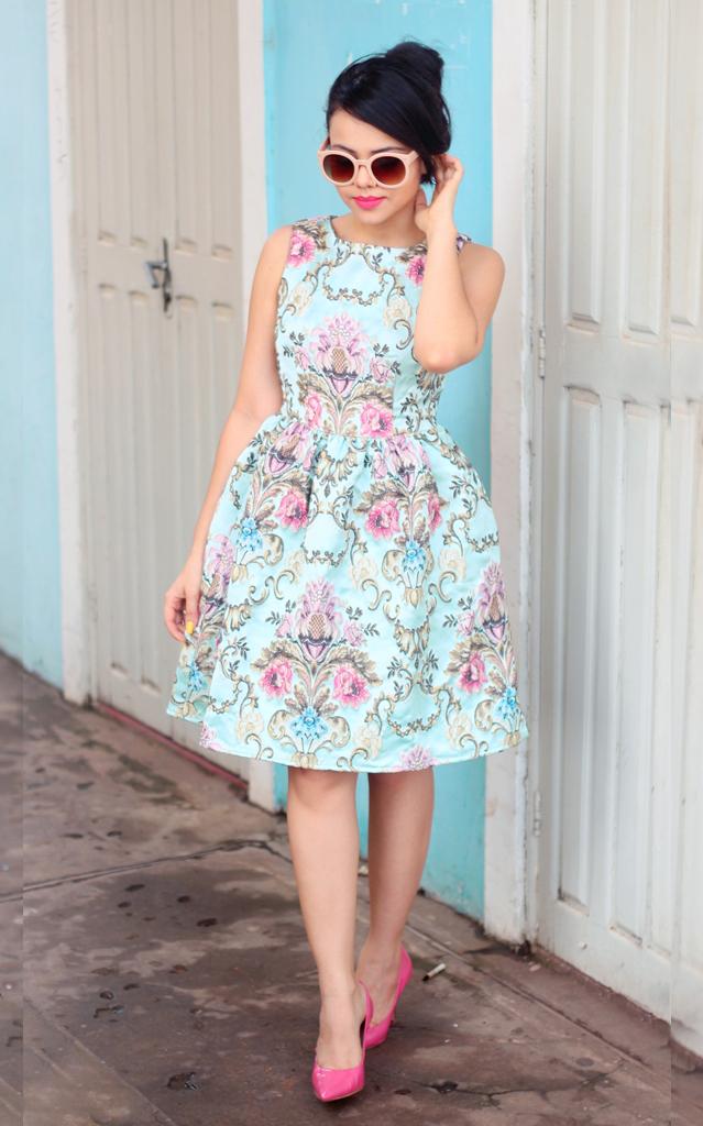 Clara Campelo: Look: A perfect Dress
