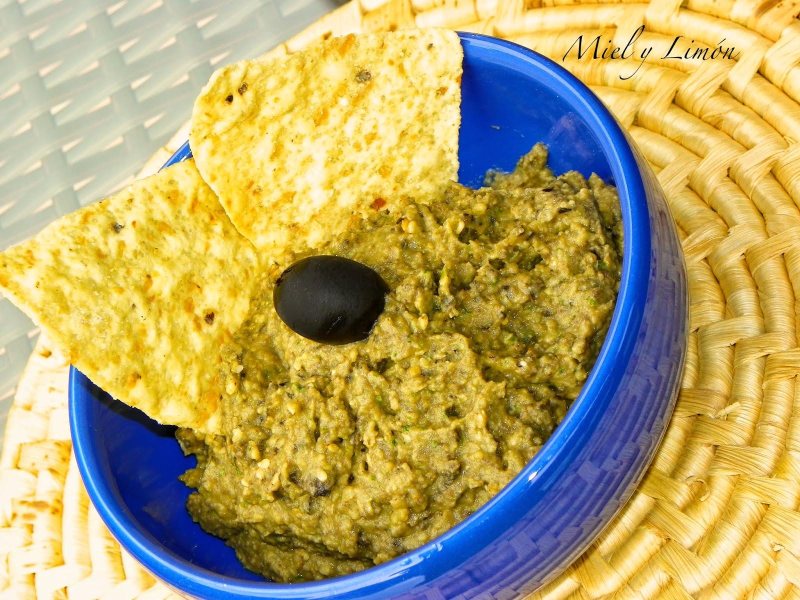 Hummus De Aceitunas Negras