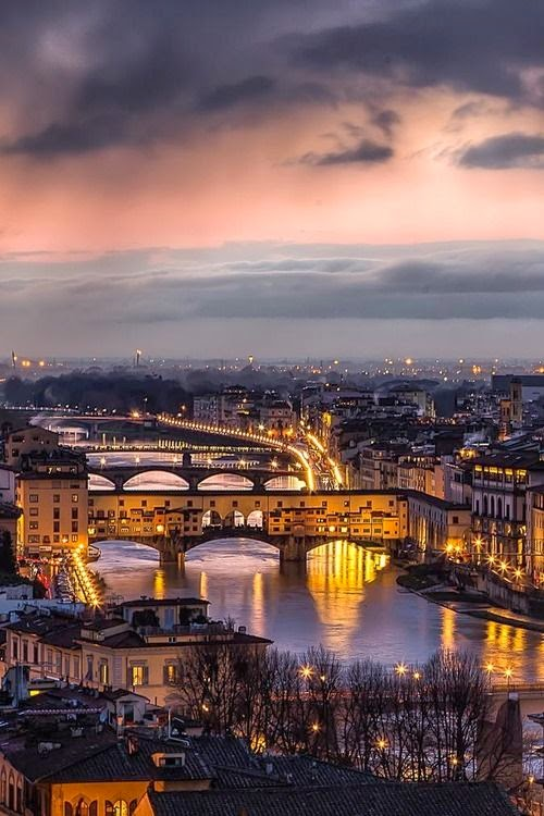 Sunset in Florence – Italy