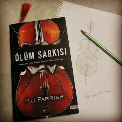Ölüm Şarkısı, P.J. Parrish, kita, roman, cinayet, gizem, çello, arkadya, novel, book, Kitap OkuYorum, kitap yorumu,