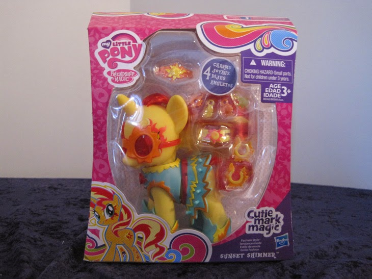 Cutie Mark Magic Fashion Style Sunset Shimmer, new in packaging.