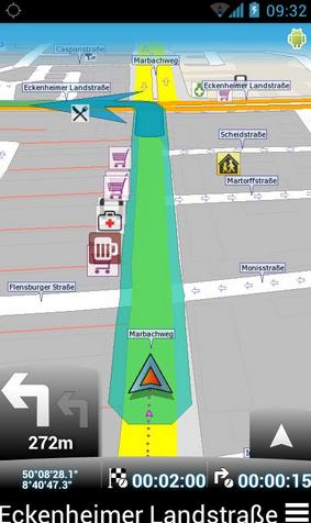 MapFactor : GPS Navigation - Aplikasi GPS Android Terbaik