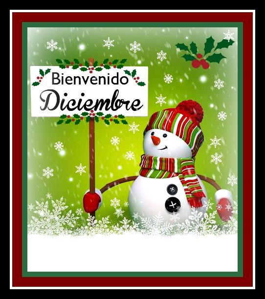 * ¡Sé bienvenido, diciembre! *