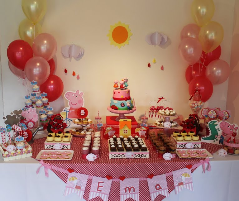 Mesas Tematicas : Candy Bar y Sweet Table