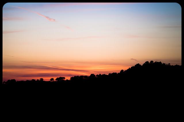 Zachód słońca w Margalef, Katalonia, Hiszpania. Fotografia krajobrazu. fot. Łukasz Cyrus, Ruda Śląska