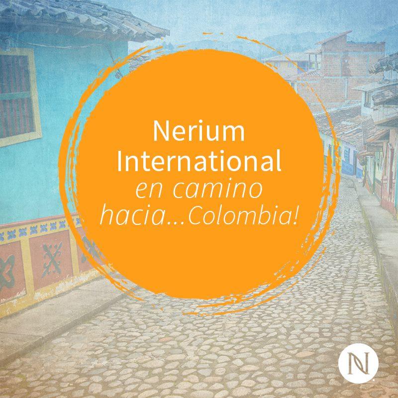 Nerium Pronto en Colombia!
